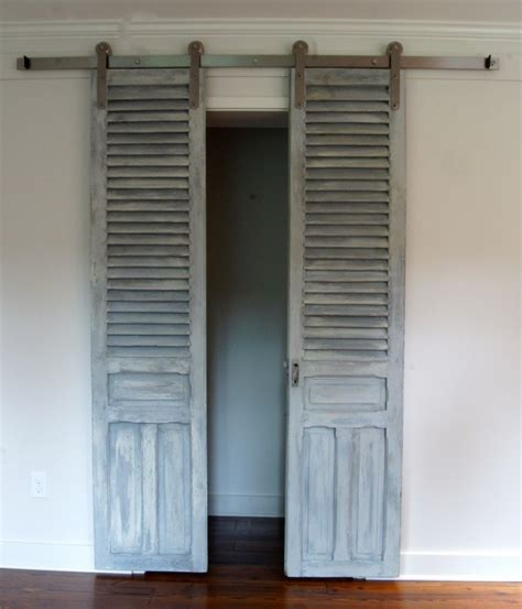 Shutter Doors For Closets 12 Diy Doors That You Can Make Today
