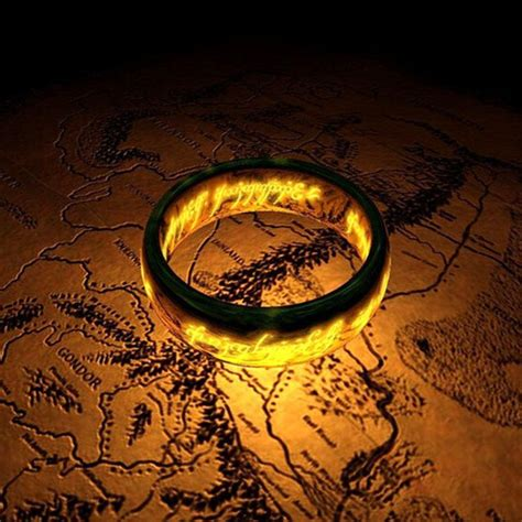 Replika Cincin Lord Of The Ring The One Ring celtic wedding rings lord of the rings the one ring lort band stainless steel bilbo s hobbit