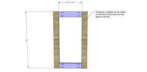 How To Build A Glass Cabinet Door Free Diy Woodworking Plans To Build A Glass Door Cabinet