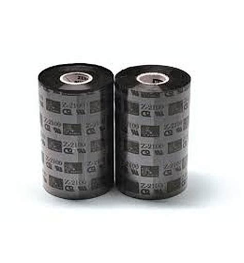 Ribbon Barcode Ssw 110mm X 300m Wax 02100bk11045 zebra 2100 high performance wax 110mm x 450m ribbon the barcode warehouse uk
