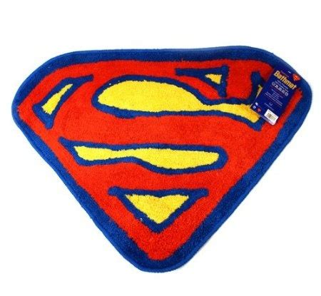 Superman Bathroom Accessories Superman Bath Mat Superman Batman Superman Bathroom Decor Tsc
