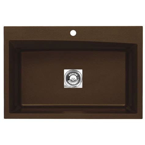 astracast kitchen sinks astracast dual mount granite 33 in 1 hole single basin