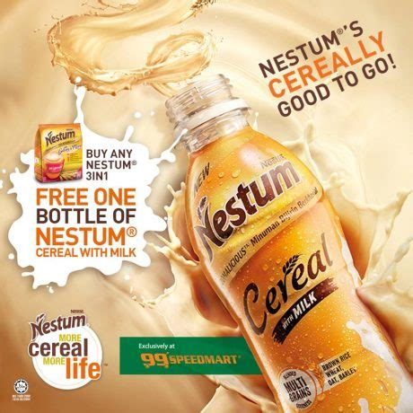 Nestum Cereal nestum 3 in 1 has a new drinkable option updated mini