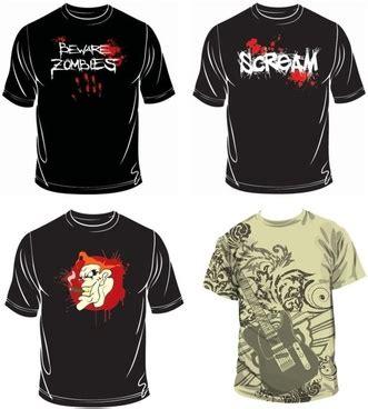 Kaos T Shirt Ghost Busters vector t shirt free vector 1 339 free vector