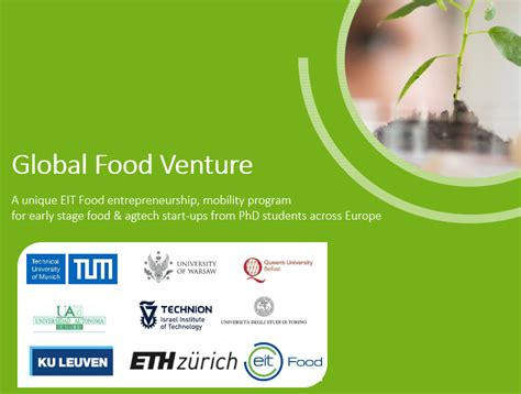 Applications For Programme Now Open by Applications Now Open For The Global Food Venture Program