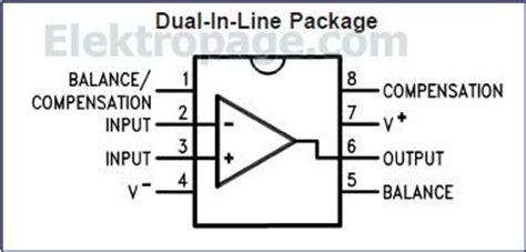 lm ic pinout diagram integrated circuits elektropagecom