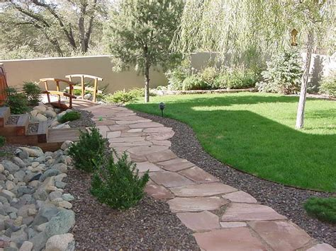 Design Ideas For Flagstone Walkways Gardening Landscaping How To Lay Flagstone Patio For