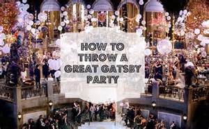 How to throw a great gatsby party simply bubbly