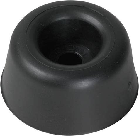 rubber st ch anschraubpuffer schwarz 216 x h 25 mm x 10 mm pb fastener