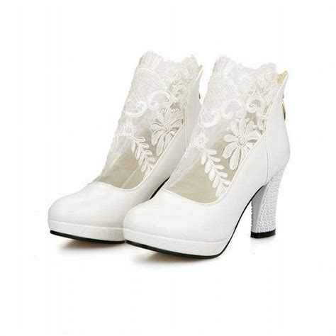 white high heel ankle boots 21 beautiful white ankle boots for sobatapk