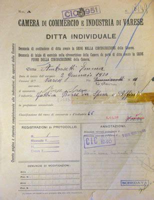 ditta individuale di commercio ambrosetti museoweb dell economia varesina