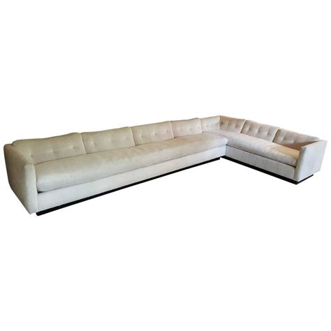 down filled couches 1970s down filled sectional sofa designed by everett