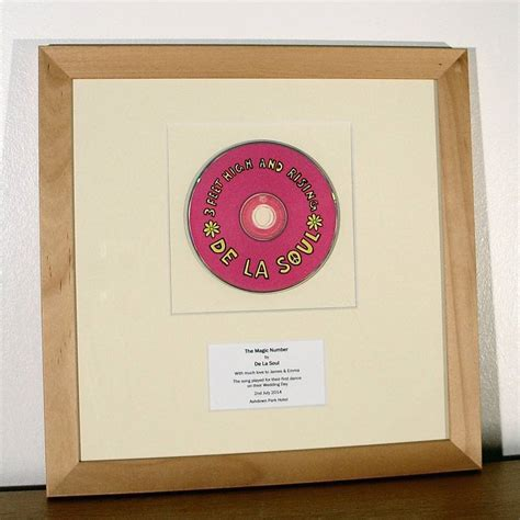 Wedding Song Original by Framed Wedding Song Original Vinyl Record By