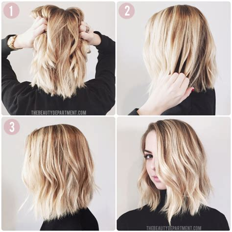 How To Cut A Lob | the beauty department your daily dose of pretty how to
