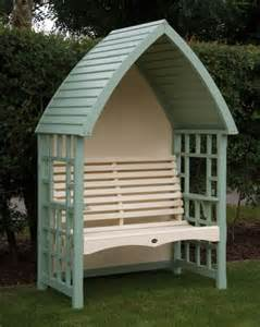 Plastic Climbing Plants - uk gardens two seater hand crafted cream and light green wooden garden arbour ukg18002 uk