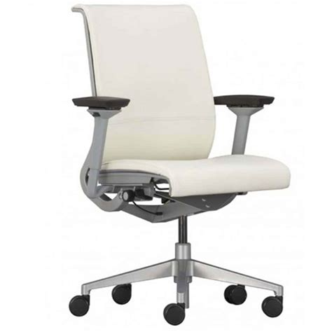 Office Desk Chair White Leather Desk Chair Office Furniture