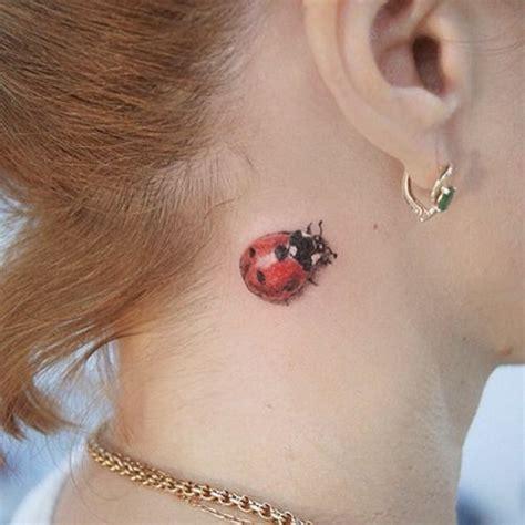 ladybug tattoo behind ear 61 best images about lady bug tattoos on pinterest lady