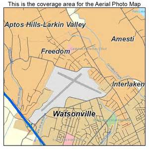 freedom california map aerial photography map of freedom ca california