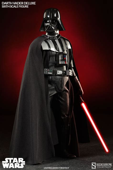 wars vader wars darth vader deluxe sixth scale figure by