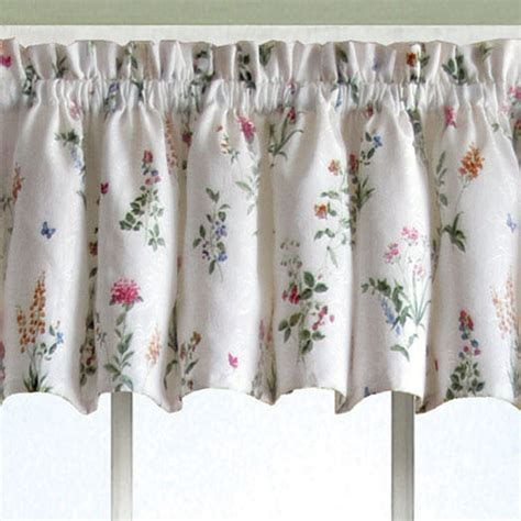 Butterfly Valance butterfly garden tailored valance white 55 x 12 touch of class