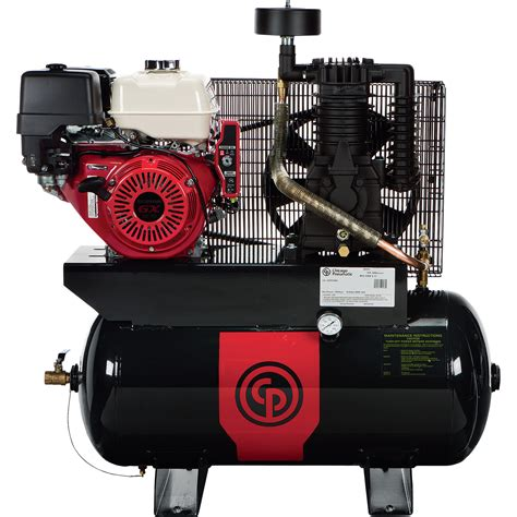 chicago pneumatic gas powered air compressor 13 hp 30 gallon model rcp1330g northern tool