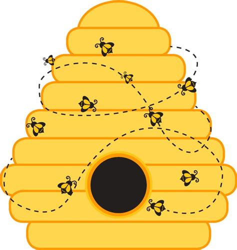 bee hive clip honeycomb clipart bee nest pencil and in color honeycomb