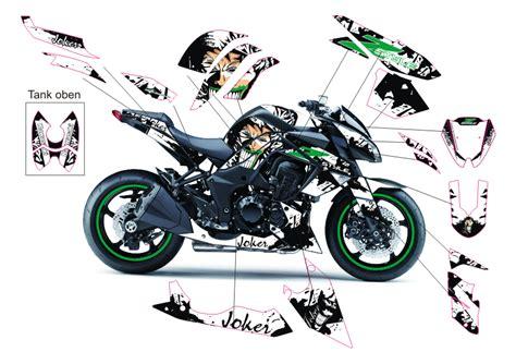 dekor aufkleber motorrad 4moto shop kawasaki z1000 joker