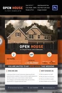 27 open house flyer templates printable psd ai vector