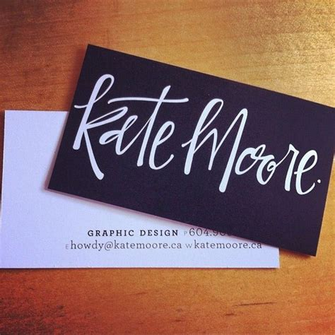 Design My Own Name Card