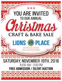 lions place craft amp bake sale downtown winnipeg