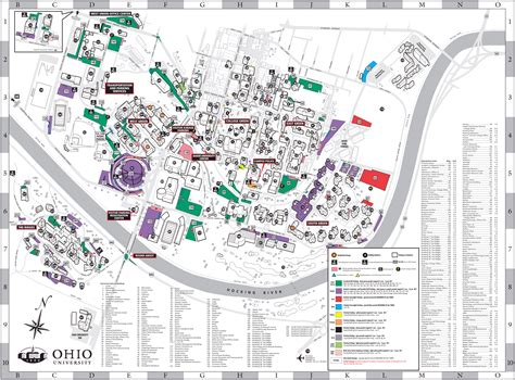 map of colorado gmu ohio university athens campus map and tour