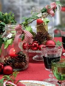 weihnachtliche dekoration diy basteln tisch decken
