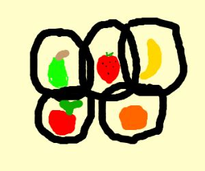 fruit olympics the planets been replaced with fruit