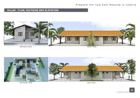 low cost apartments porposal for low cost housing in liberia