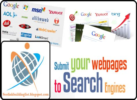 Finder Websites List Top High Pr Search Engine Site List Page Seo List Social Bookmarking