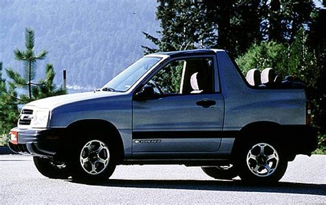 chevy tracker convertible maintenance schedule for 2000 chevrolet tracker openbay