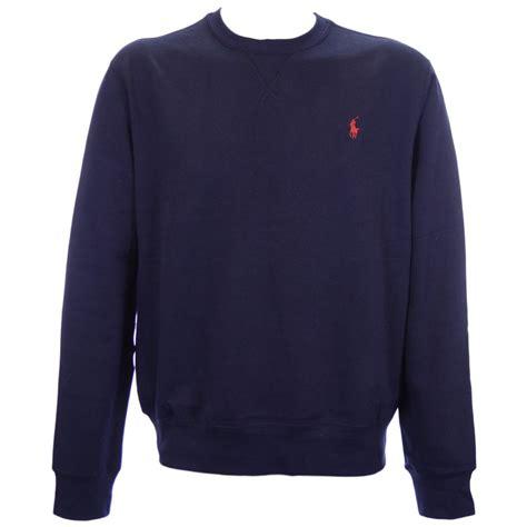 Crewneck Polos ralph crew neck sweatshirt navy gray cardigan sweater
