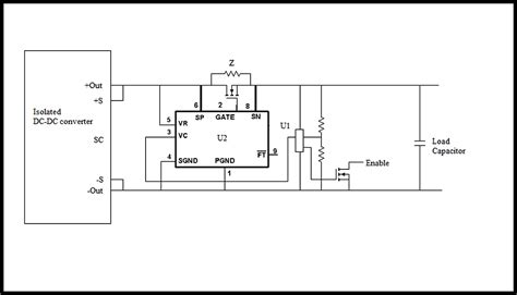 capacitor precharge circuit dc dc converters and highly capacitive loads edn