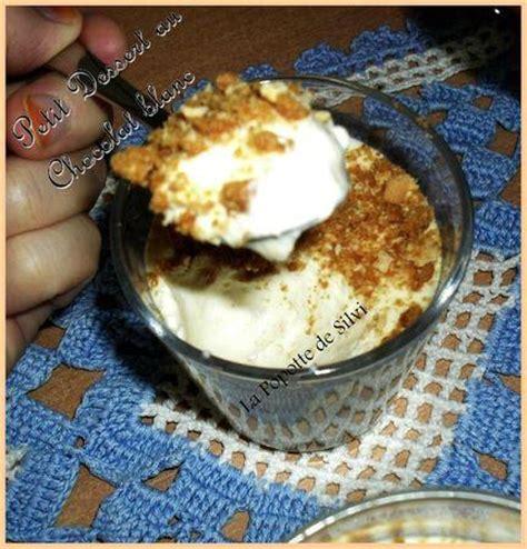 petit dessert au chocolat blanc et speculoos pour un tour en cuisine pour le tour rapide 8