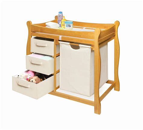 Badger Basket Sleigh Changing Table Change Table Beautiful Badger Basket Sleigh Style Changing Table With Her Table Ideas