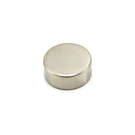 25mm dia x 10mm thick n42 neodymium magnet 14kg pull first4magnets