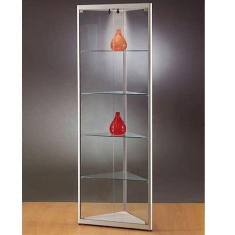 corner display cabinet glass corner glass display cabinet information