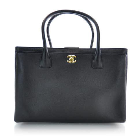 Coxs Chanel Cerfexecutive Tote by Chanel Caviar Cerf Executive Shopper Tote Black 32050