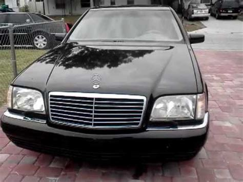 1999 mercedes benz s class s320v w140 one owner florida