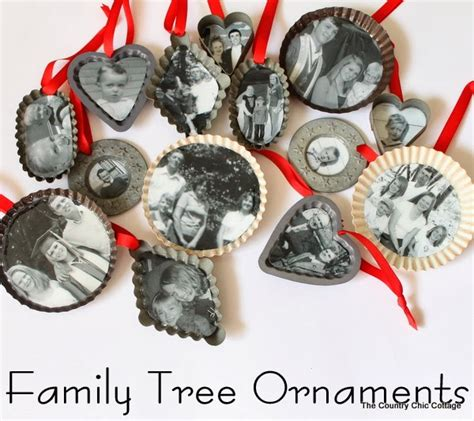 ornaments with photos 50 diy ornaments do small things with