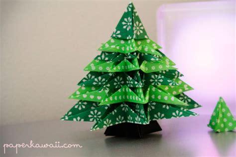 Modular Origami Tree - origami tree paper crafts