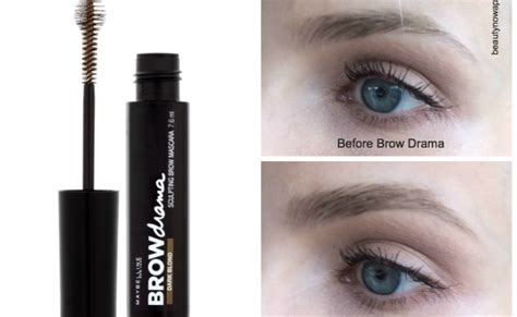 Maybelline Eyebrow Mascara Review Harga maybelline brow mascara review beautynow