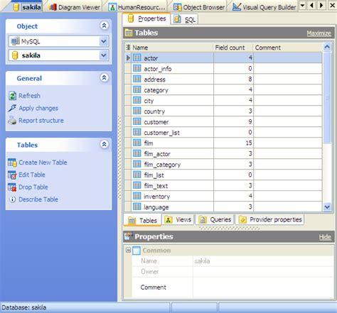 database editor database tools for mysql sql server postgresql sqlite