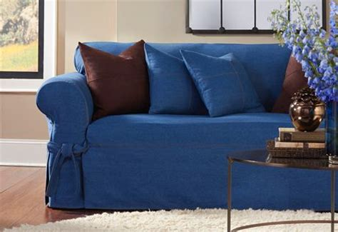 sure fit denim sofa slipcover 43 best images about denim on pinterest chair slipcovers