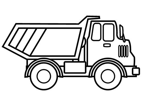 trucks coloring pages 40 free printable truck coloring pages